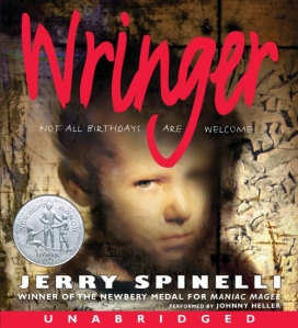Wringer audio book cover