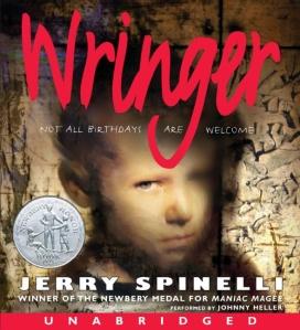 Wringer audio book cover