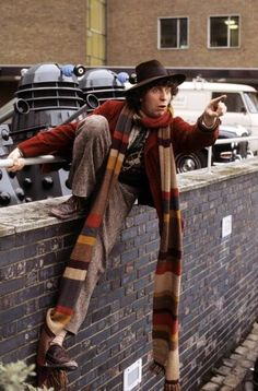 Tom Baker was the Doctor from 1974 to 1981.