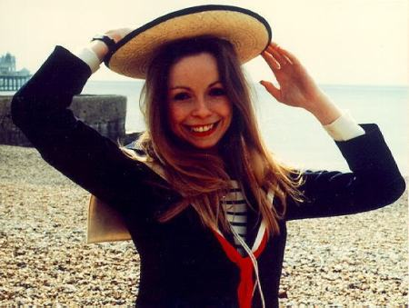 "Romana in the beginning of my favourite fourth Doctor episode, ""The Leisure Hive."""